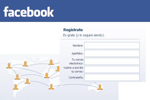 facebook registro