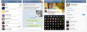 telegrama clon whatsapp